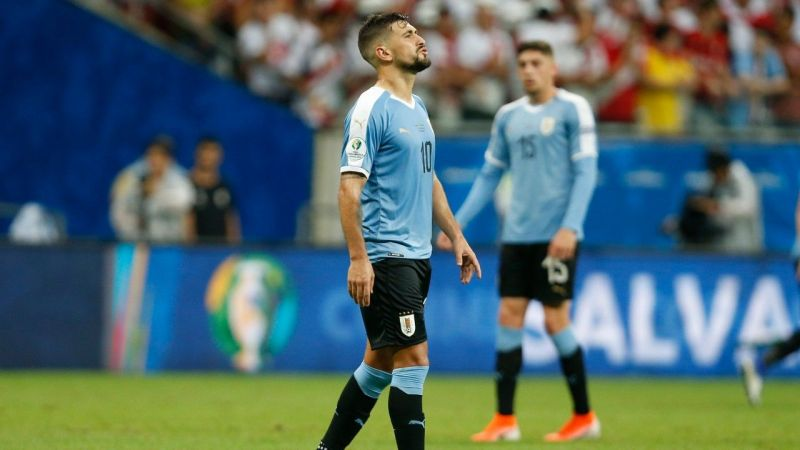 Uruguay will once again be counting on De Arrascaeta in Cavani and Suarez