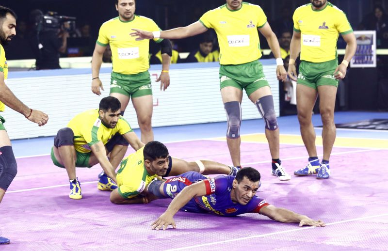 Dabang Delhi demolish the Tamil Thalaivas in a brutal encounter