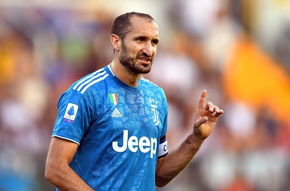 Juventus captain Giorgio Chiellini - Long term absentee