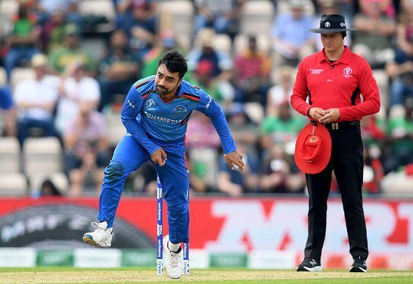 Rashid Khan tops the bowling rankings