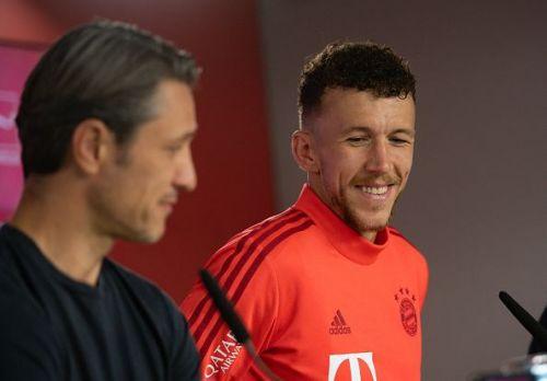 Ivan Perisic scored his first Bayern goal against Mainz