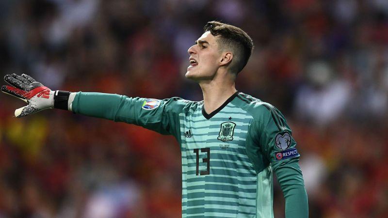 Kepa was sensational in goal against Romania