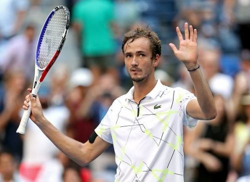 On an 11-match winning streak, Medvedev has reached the US Open semifinals for the first time