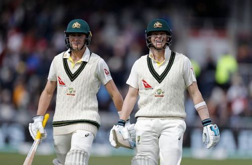 The duo bailed out Australia from choppy waters with a spectacular hundred-run partnership.