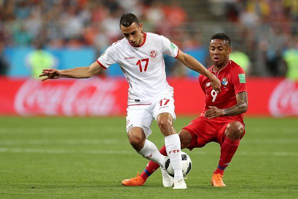 The Tunisian international caught the spotlight at the World Cup in 2018