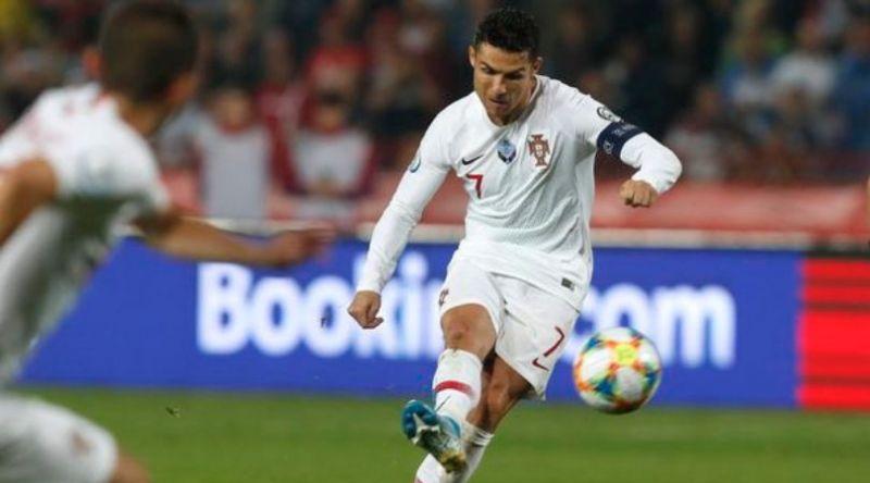 Ronaldo helped himself to four goals