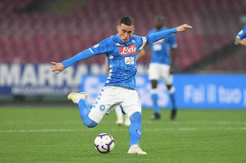 Callejon in action for Napoli