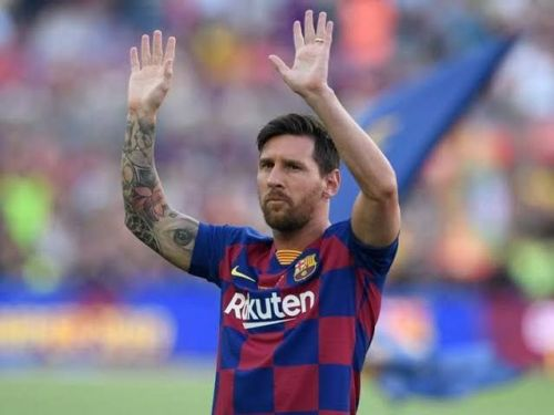 Lionel Messi is the highest-rated player in FIFA 20.