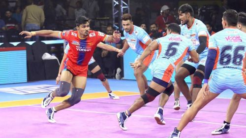 Shrikant Jadhav has regained his form in the offense for UP Yoddha.