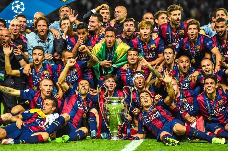 2014-15 winners Barcelona
