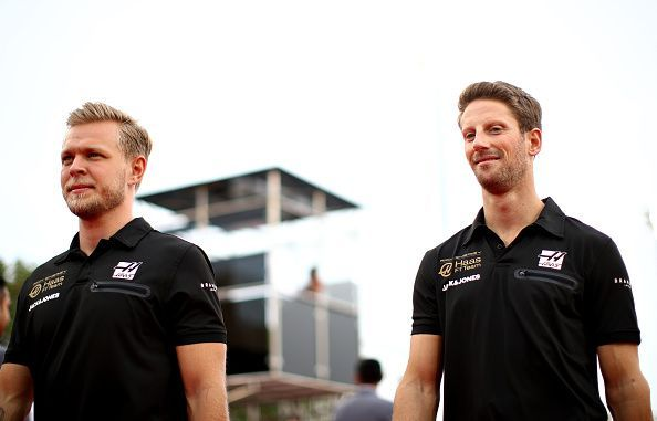 Magnussen and Grosjean
