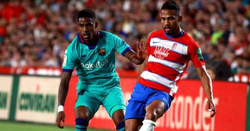 Firpo was underwhelming against Granada and unsurprisingly hooked at half-time, in his first Barca start