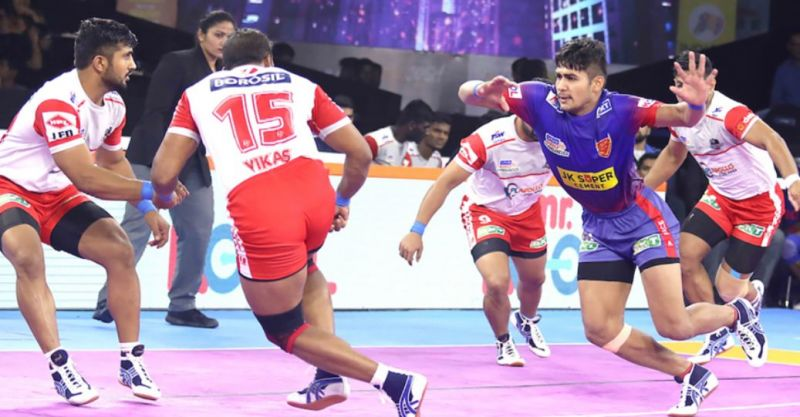 दबंग दिल्ली इस सीजन में हरियाणा स्टीलर्स को हरा चुकी है