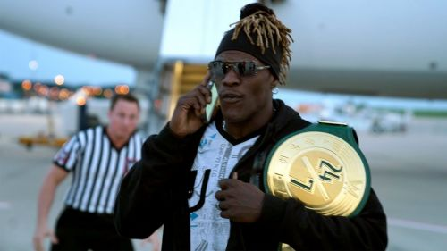 R-Truth had to defend his belt