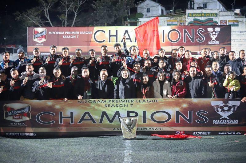 Aizawl FC will kick off their season as defending champions {Pic : Aizawl FC}