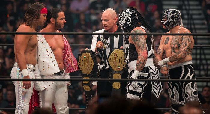 The Young Bucks and The Lucha Bros continued their fantastic feud at AEW All Out