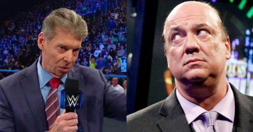 Vince McMahon and Paul Heyman.