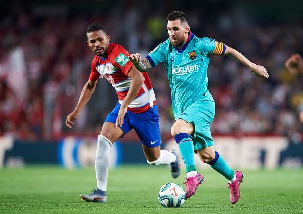 Messi was clearly not at 100% and yet, still was Barcelona