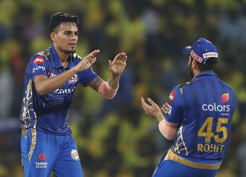 A wonderful breakout season with Mumbai Indians in the IPL saw Rahul Chahar make his debut for India in August 2019.