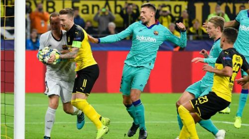 Dortmund and Barcelona played out a goalless draw
