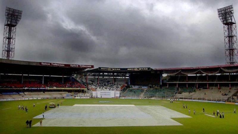 तीसरे टी20 मैच में भी है बारिश होने की संभावना
