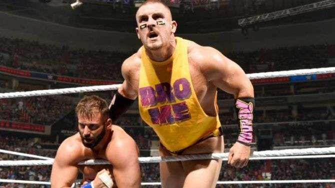 Mojo Rawley turned on Zack Ryder to end their tag team run
