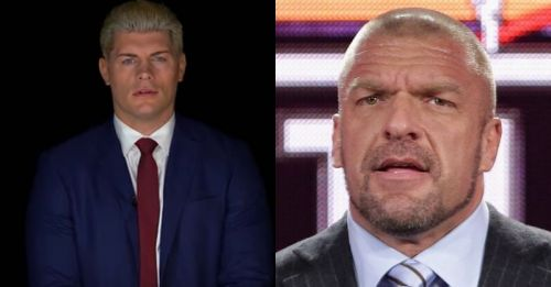 Cody Rhodes and Triple H