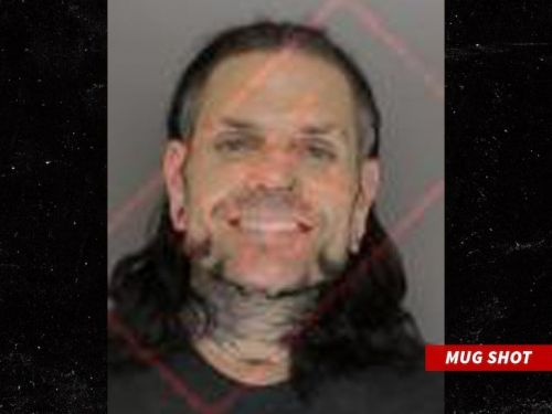 Mugshot of Jeff Hardy courtesy of TMZ.com