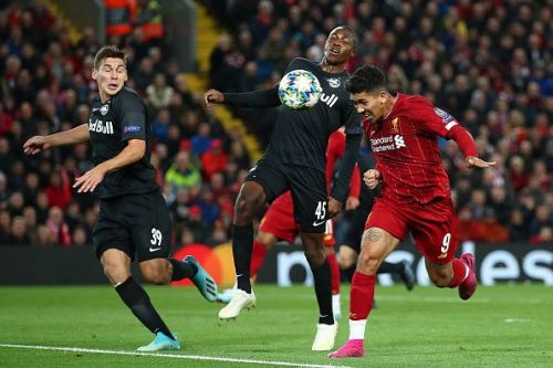Liverpool's only Champions League points so far have come via a hard-fought win against RB Salzburg