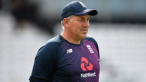 Chris Silverwood, who has been appointed England's new head coach.
