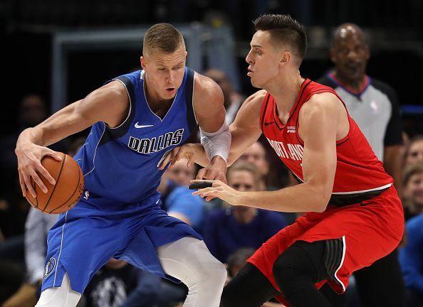 Dallas Mavericks brought Kristaps Porzingis in from the Knicks.