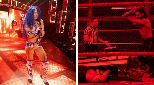 The injuries really racked up last night at Hell in a Cell