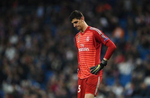 Real Madrid's Thibaut Courtois