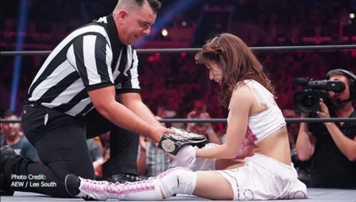 Riho became the first AEW Women's Champion last week (Photo courtesy: AEW)