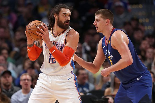 Steven Adams still has two years to run on his existing deal
