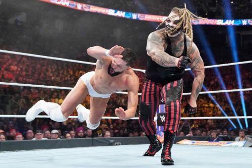 Finn Balor's last WWE PPV match was against The Fiend