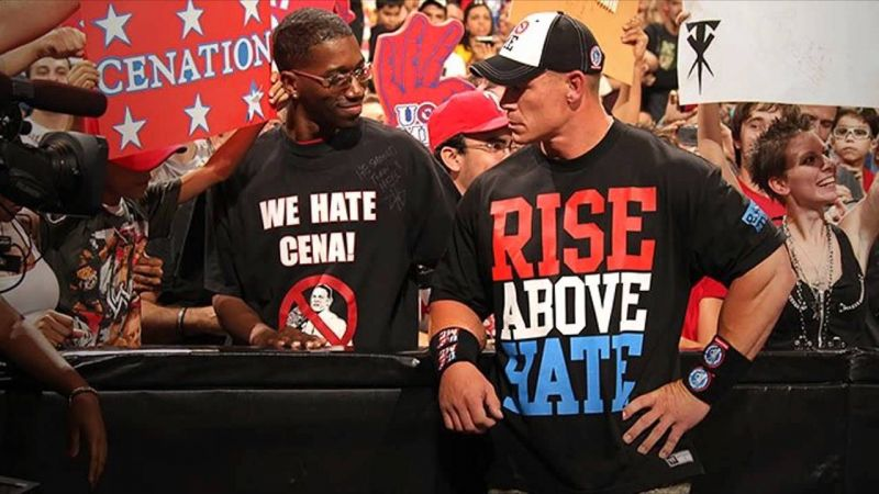 John Cena is the most polarising figure in WWE history