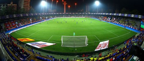 The Mumbai Football Arena has been widely appreciated for its superb facilities (Credits: ISL)
