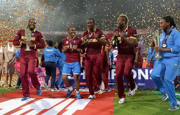 वेस्टइंडीज दो बार टी20 वर्ल्ड कप जीतने वाली एकमात्र टीम है