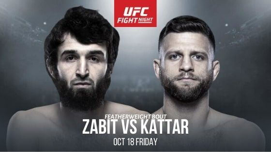 UFC Fight Night 163: Zabit vs Kattar