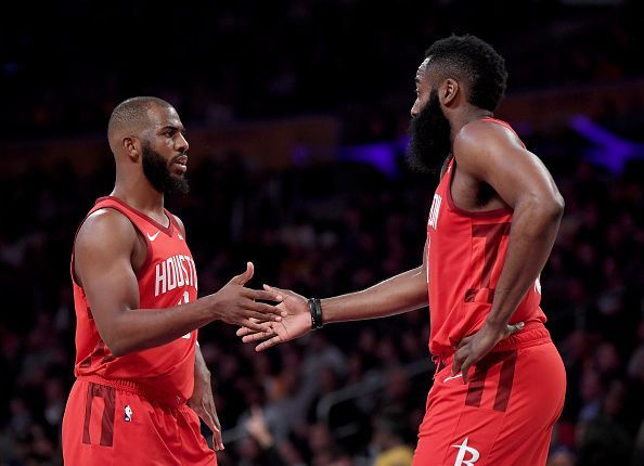 James Harden wanted the Rockets to keep Chris Paul