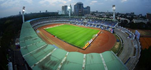 Sree Kanteerava Stadium was renovated by Bengaluru FC in 2014 for the I-League.