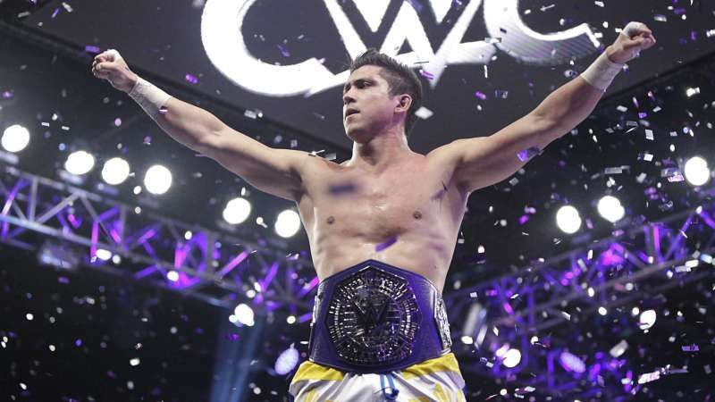 The inaugural Cruiserweight Champion, TJP.