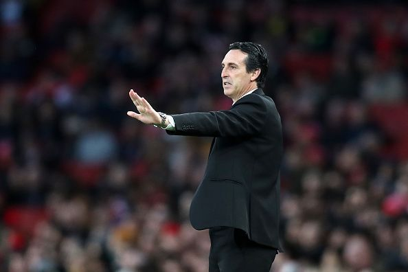 Unai Emery has not lived up to expectations.
