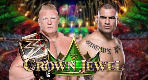 ब्रॉक लैसनर और केन वैलासकेज़ के बीच क्राउन ज्वेल में होगा बड़ा मैच