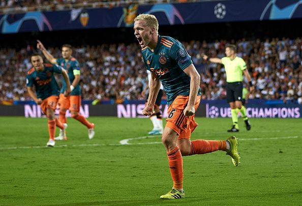 The Dutch giants continue their incredible exploits in Europe