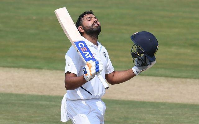 रोहित शर्मा ने बतौर ओपनर पहले ही टेस्ट मैच में शानदार शतकीय पारी खेली