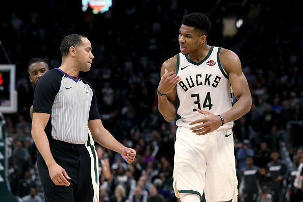 Giannis Antetokounmpo has started the season strong.