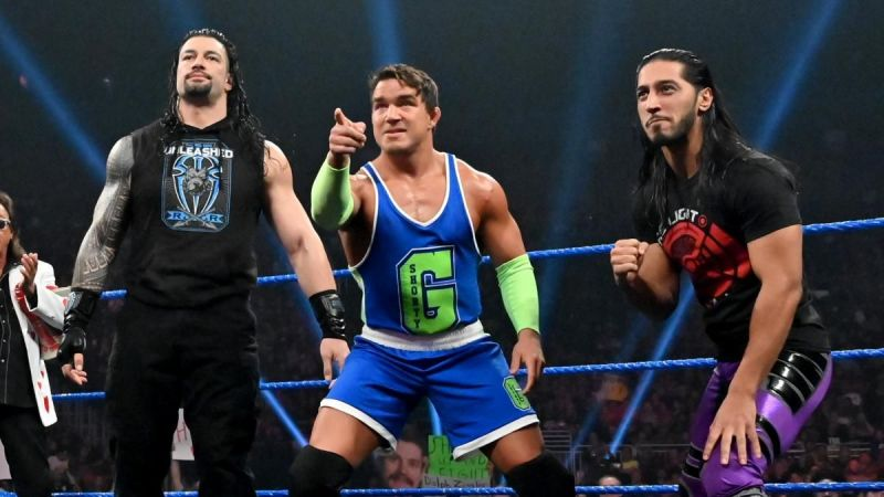 Chad Gable is now known as Shorty G
