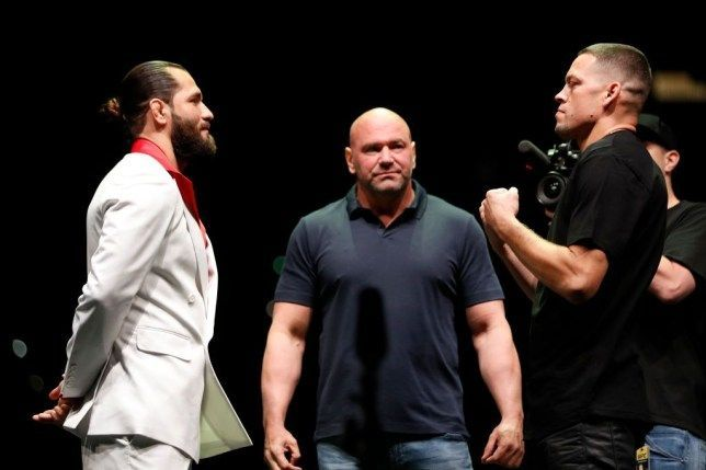 Nate Diaz and Jorge Masvidal face off at UFC 244 to decide the UFC